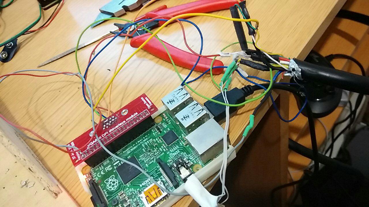 Probando cables!